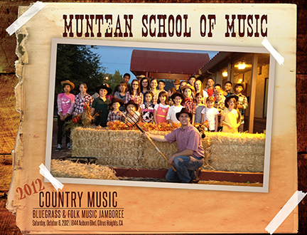 2012 Country, Bluegrass & Folk Music Jamboree