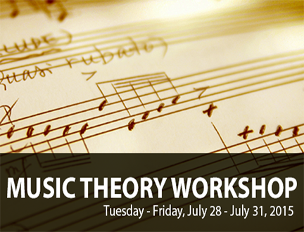 2015 Music Theory Workshop