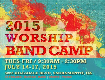 2015 Worship Band Camp