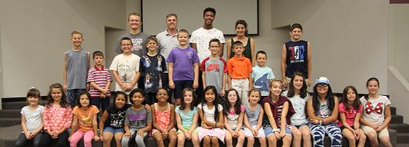 2016 Piano Camp Group